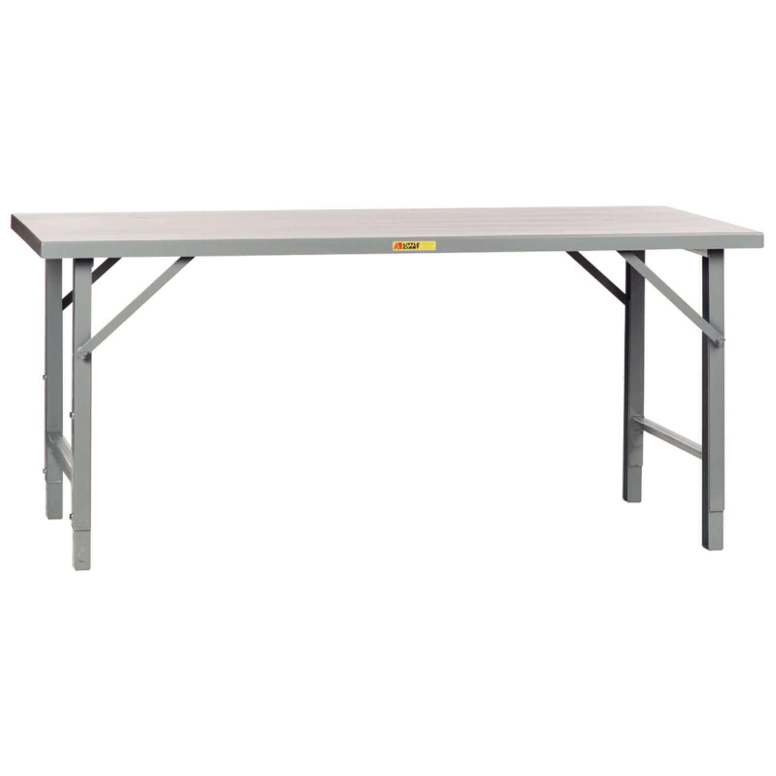Little Giant Folding Leg Welded Workbench by Brennan Equipment and Manufacturing Inc