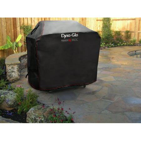 Dyna-Glo Premium Grill Cover for 53'' (134.6 cm) Grills, Black