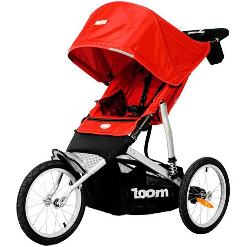 Joovy - Zoom Fixed Wheel Jogger, Red