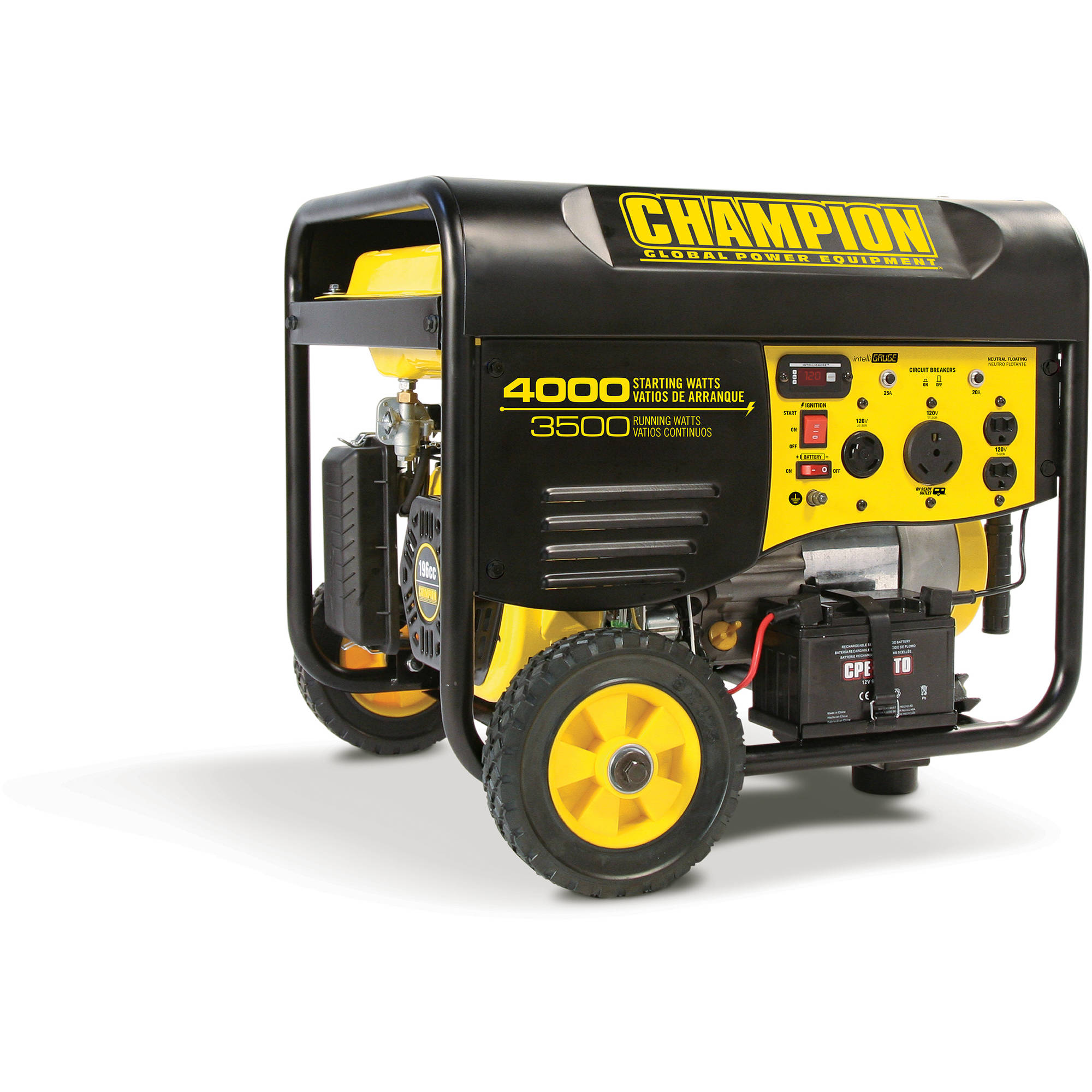 Champion 3500 Watt RV Ready Portable Generator Walmart