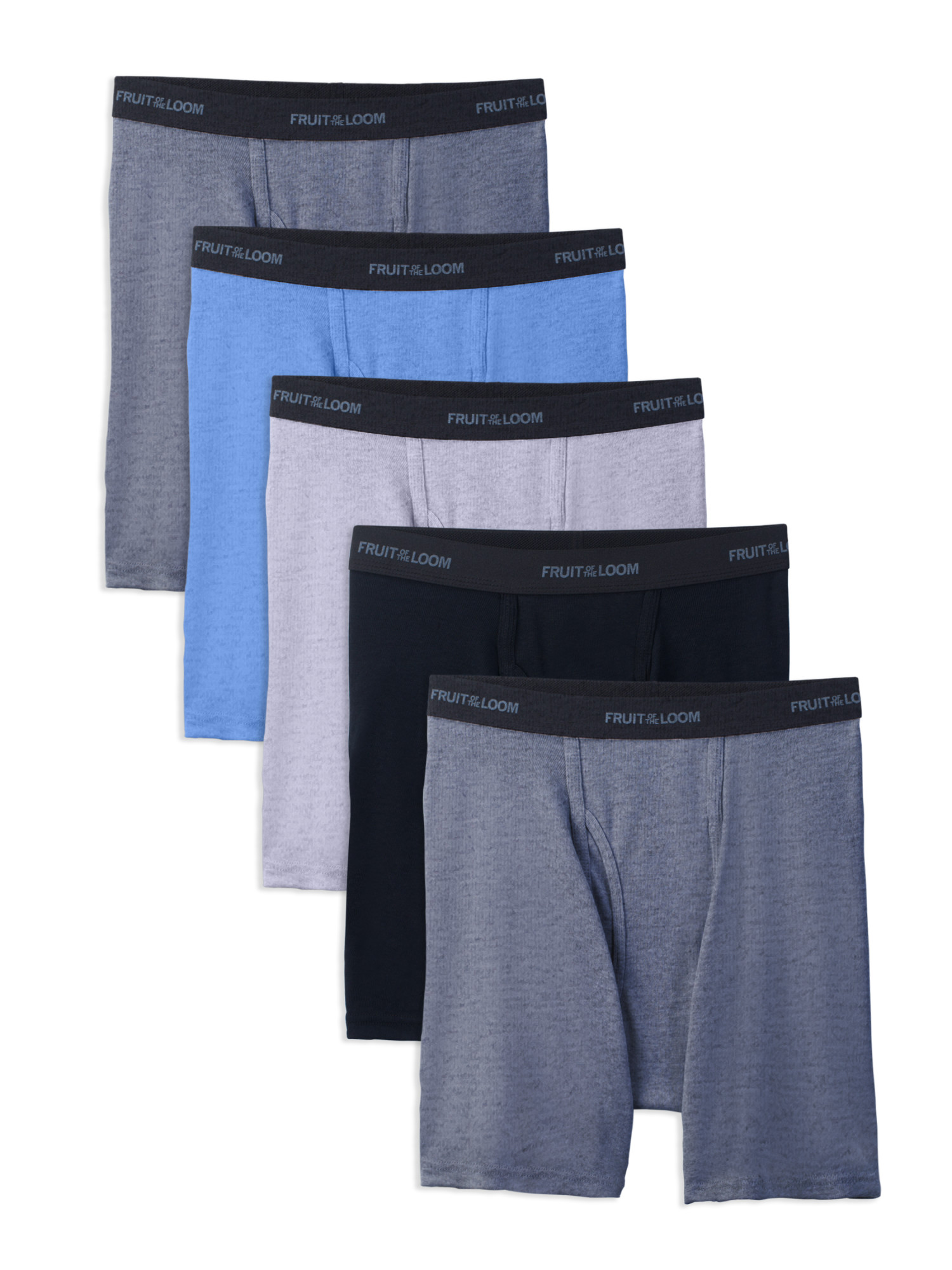 5-Pack Fruit of the Loom Men's Beyondsoft Boxer Briefs