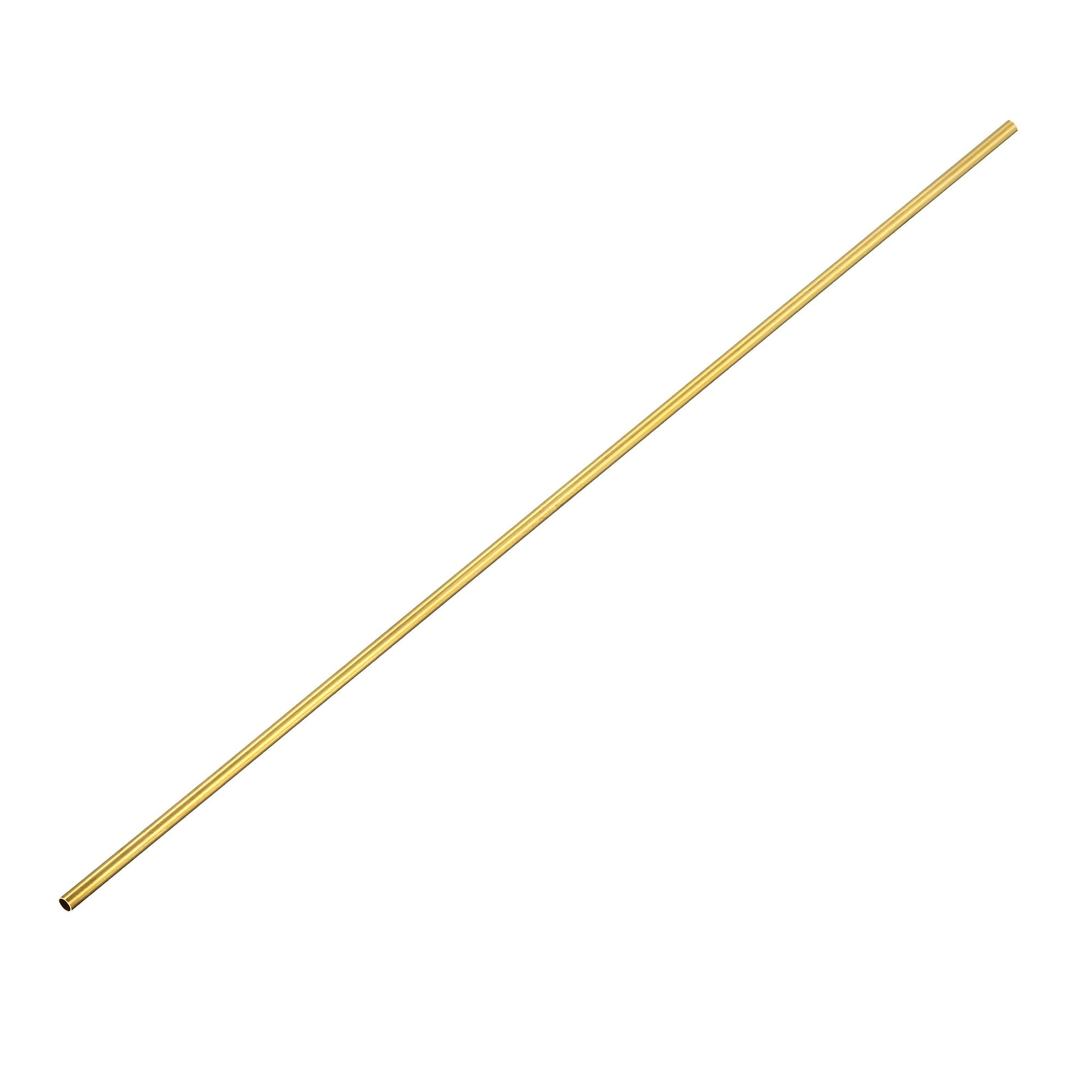 4PCS 4mm x 5mm x 500mm Brass Pipe Tube Round Bar Rod
