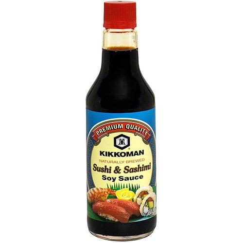 Kikkoman Sushi & Sashimi Soy Sauce, 10 oz (Pack of 6)