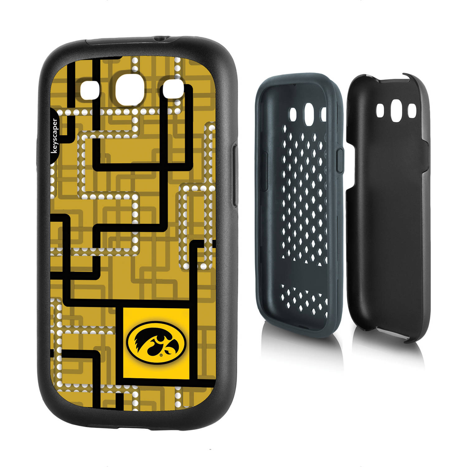 Iowa Hawkeyes Galaxy S3 Rugged Case
