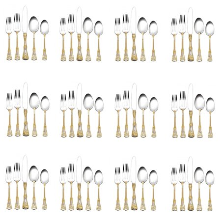 Royal Albert Old Country Roses 60pc. Flatware Set (Service for Twelve) Royal Albert Star