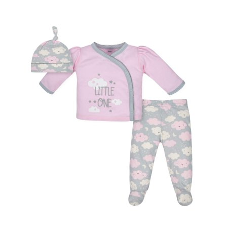 e6462f2dec Child of Mine by Carter's Newborn Baby Neutral Long Sleeve Basic 3 ...