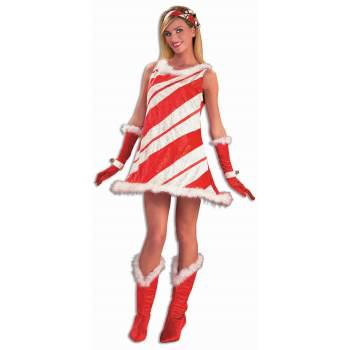 COSTUME-MISS CANDY CANE