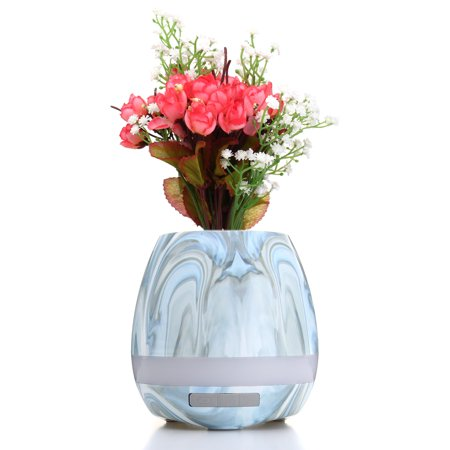h Speaker Smart Flowerpot LED Touch Sing Loudspeaker Music Player Potted - image 5 of 8
