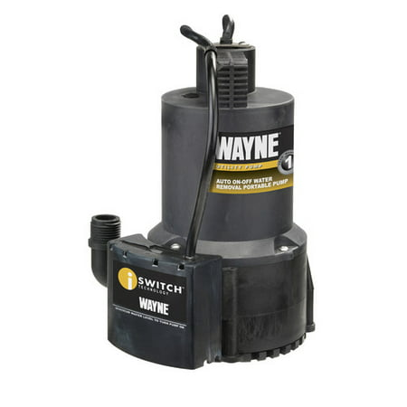 Wayne Submersible Utility Pump (WAYNE EEAUP250 1/4 HP Thermoplastic Non-Submersible Utility Pump)
