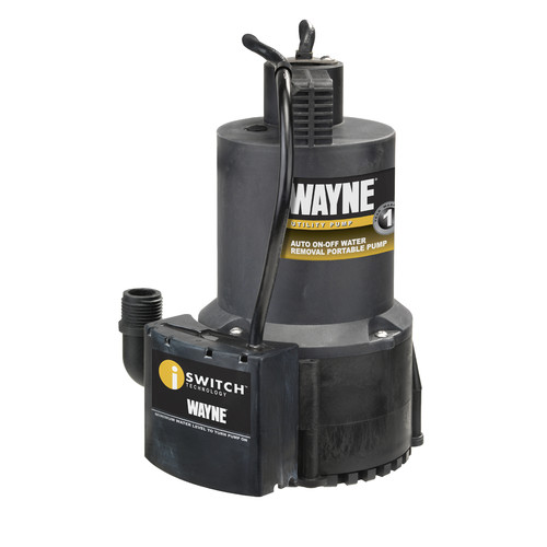 WAYNE EEAUP250 1/4 HP Thermoplastic Non-Submersible Utility Pump