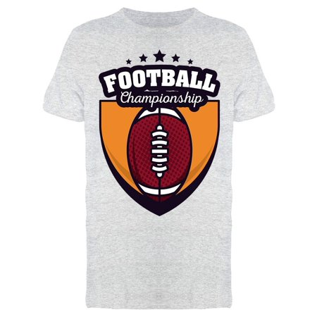 Football Championship Ball Toon Tee Men's -Image by Shutterstock Championship Football Shirts