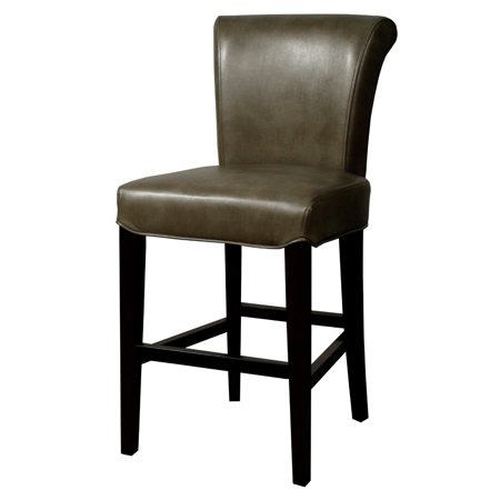 Bonded Leather Counter Stool (Bentley Bonded Leather Counter Stool, Quarry)