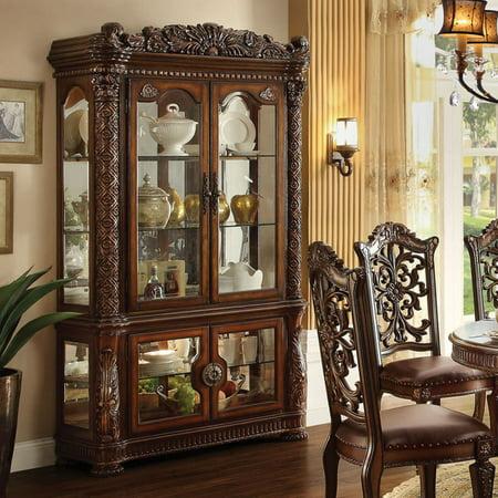 Acme Furniture Vendome Curio Cabinet – Cherry