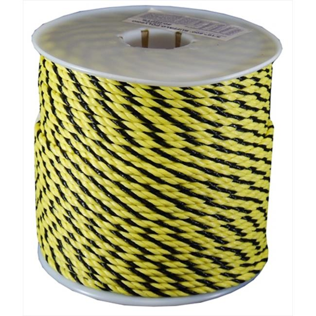 T. W.  Evans Cordage Twisted Polypro Rope in and