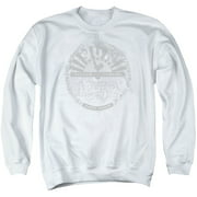 Sun Records Crusty Logo Mens Crewneck Sweatshirt