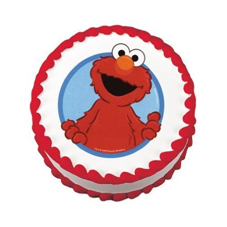 Elmo Cakes - (#45043) 1 Do-It-Yourself Edible Cake Art - Walmart.com
