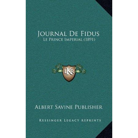 Journal De Fidus  Le Prince Imperial  1891