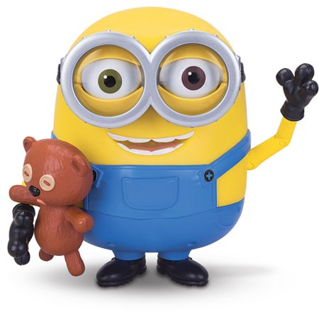 Minions Talking Bob With Teddy Bear