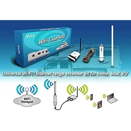 alfa wifi camp pro long range wifi repeater kit r36 tube u. Black Bedroom Furniture Sets. Home Design Ideas