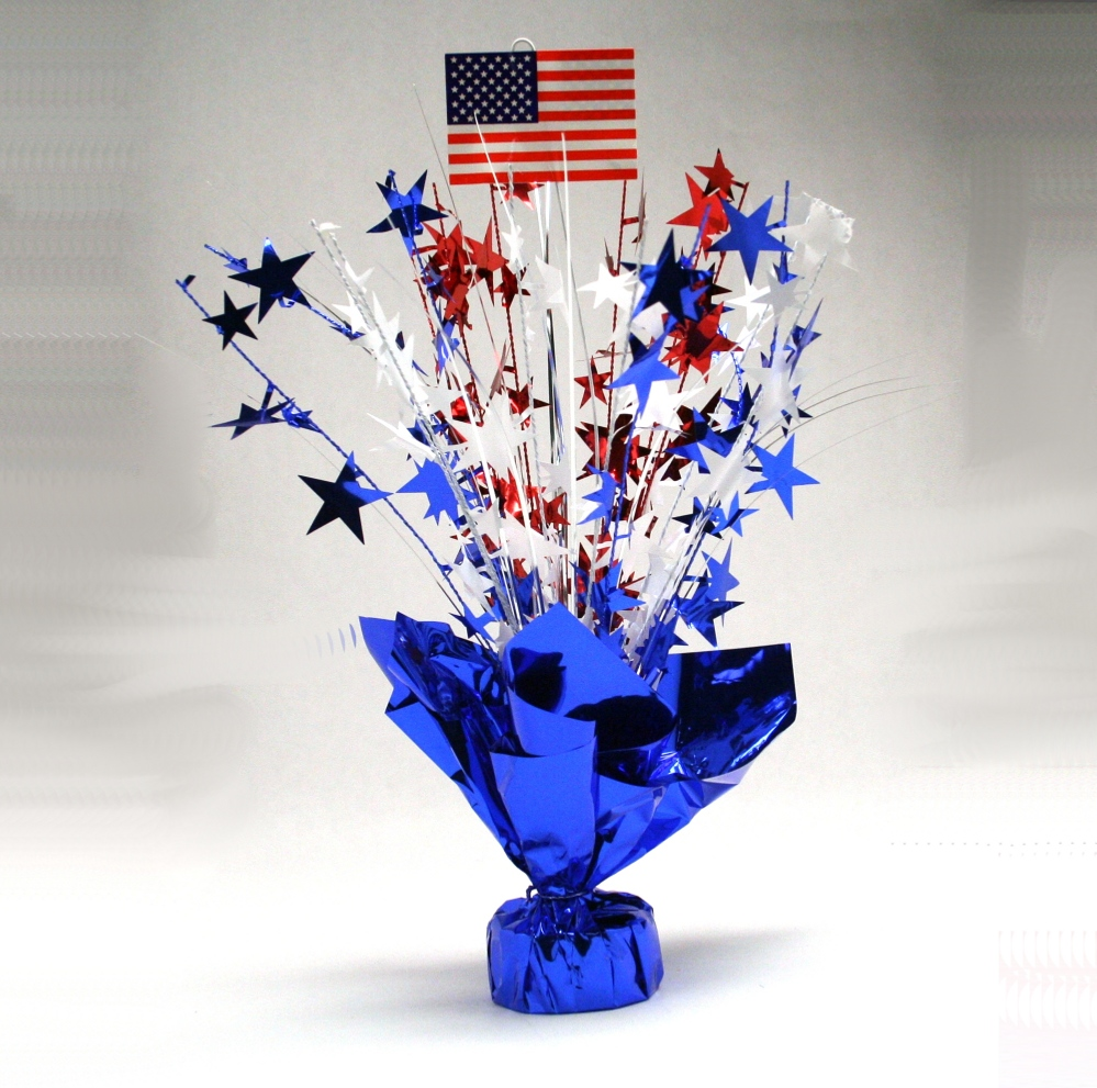 American Flag Centerpiece
