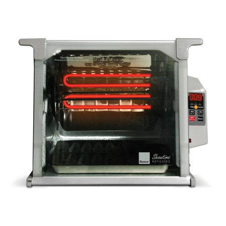 Amazon. Com: ronco digital showtime rotisserie and bbq oven, red.