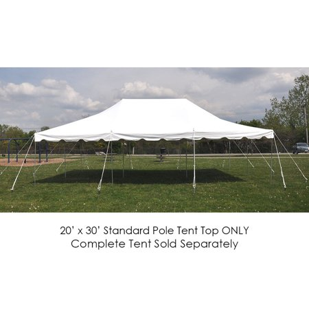 Party Tents Direct 20x30 White Outdoor Wedding Canopy Pole