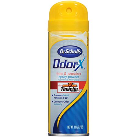 2 Pack Dr Scholls Odor X Destroy Foot & Sneaker Deodorant Sport Spray 4.7oz Each (Dr Scholl Foot Bath)