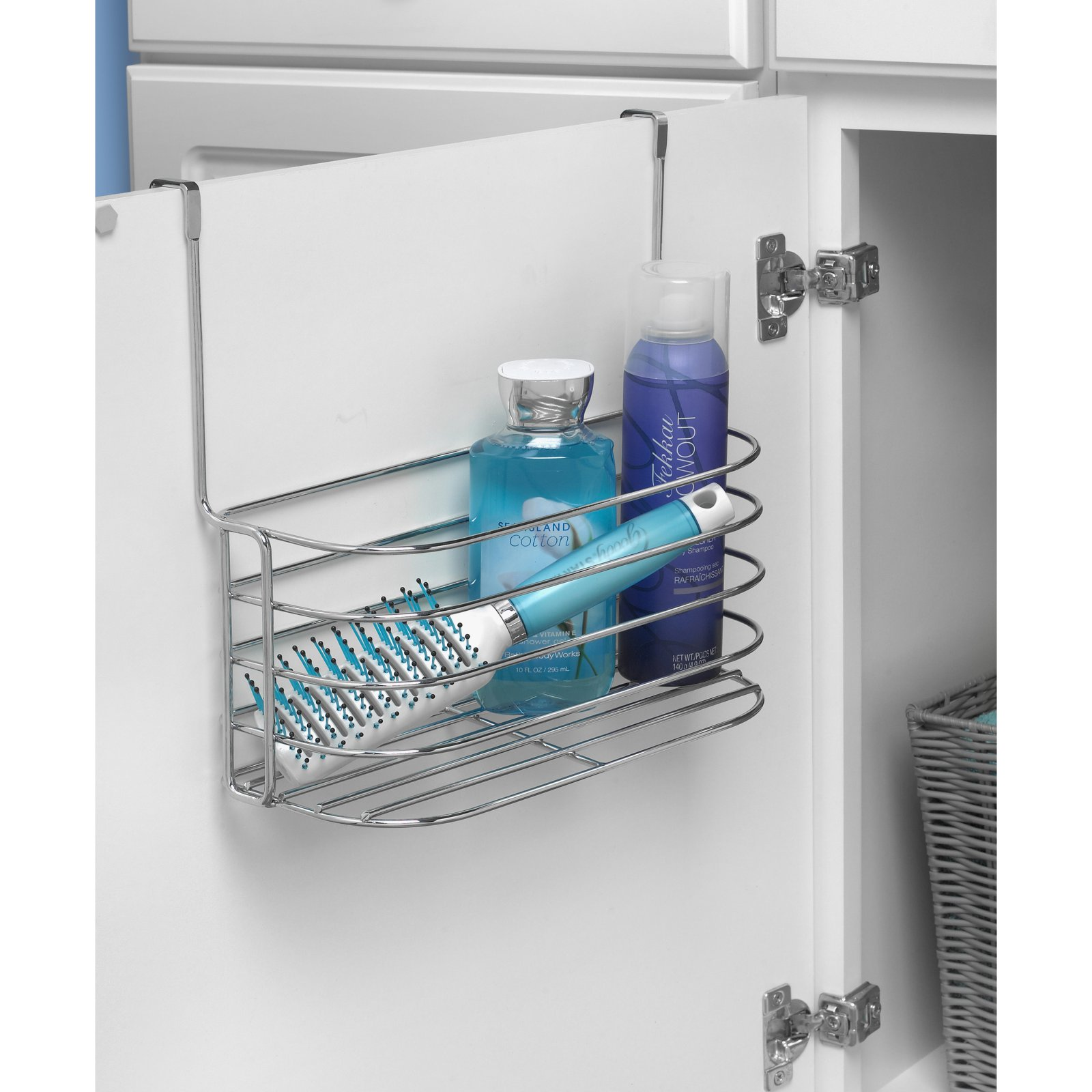 Spectrum Diversified Duo Over the Cabinet Towel Bar and Medium ...