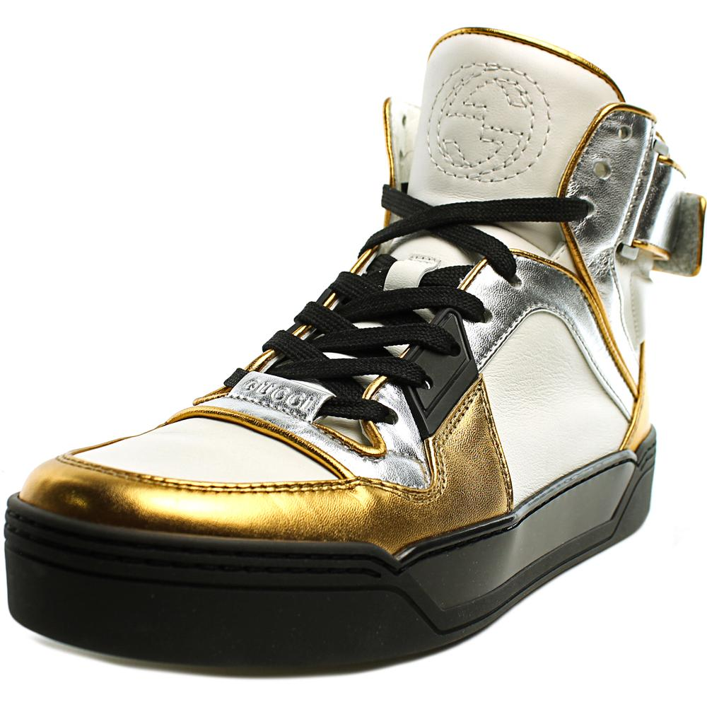 Gucci 388015    Leather  Fashion Sneakers