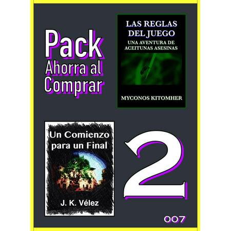 Pack Ahorra al Comprar 2: 007: Las reglas del juego: Una aventura de aceitunas asesinas & Un Comienzo para un Final - eBook - Juegos De Halloween De Terror