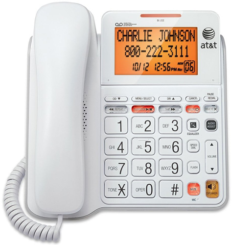 AT&T CL4940 Corded Phone