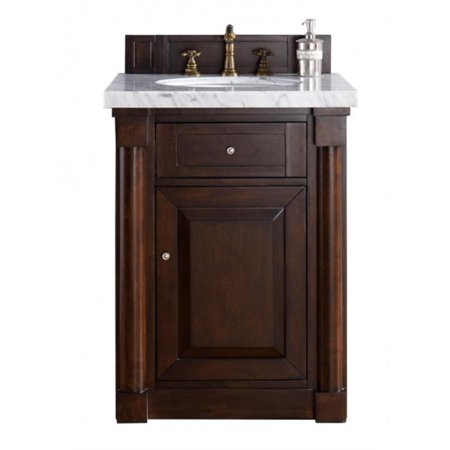 "James Martin 770-V26-BNM-4CAR New Haven 26"" Single Bathroom Vanity"
