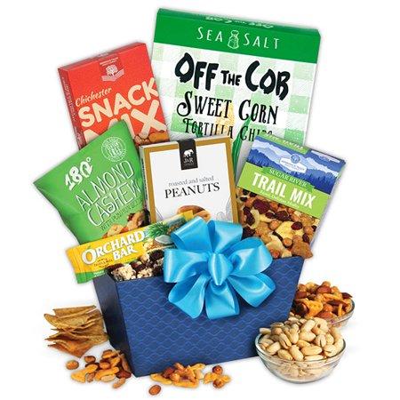 Halloween Treat Gift Baskets (Healthy Treats Gift Basket)