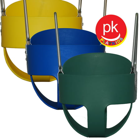 Playkids Toddler Swing Seat for Swing Set  Safe baby seat & soft for kids Porch for Play Set Jungle Gym  Playground in