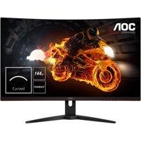 "AOC 31.5"" 2560x1440 VA LED 1ms 144Hz FreeSync Curved Gaming Monitor Refurbished"