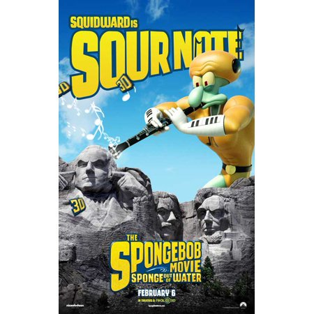The SpongeBob Movie: Sponge Out of Water (2015) 11x17 Movie Poster