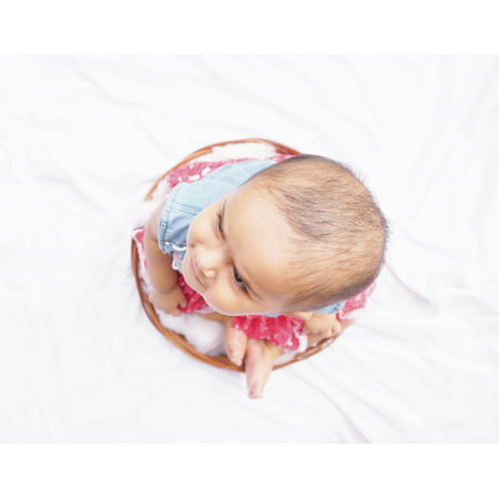 Laminated Poster Cute Small Kid Baby Girl Adorable Baby Face Poster Print 24 x 36