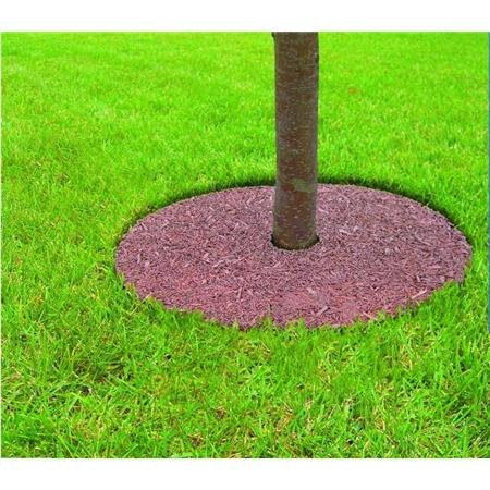 Mr. Garden 5 Years Guaranteed Tree Ring Tree Mulch Protection Weed Mat, 30 Inch-Dia, Different Colors for Both Sides, 3 Pack