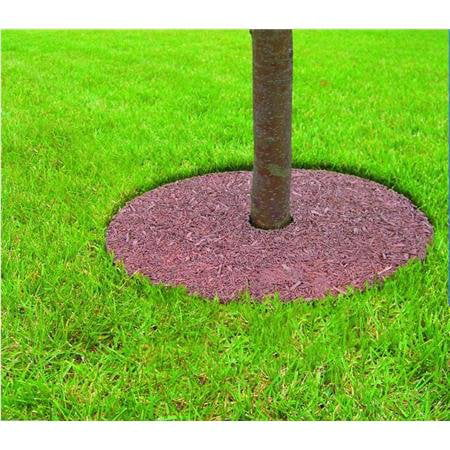 Mr. Garden 5 Years Guaranteed Tree Ring Tree Mulch Protection Weed Mat, 30 Inch-Dia, Different Colors for Both Sides, 5