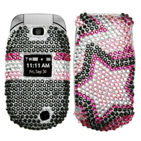 LG Revere Phone Case, LG Revere Case, by Insten Twin Stars Hard Bling Cover Case For LG Revere case cover - image 1 de 1