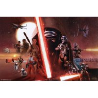 Star Wars The Force Awakens - Group Poster - 34x22