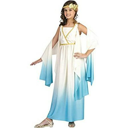 Fun World Greek Goddess Girls Child Costume (Girls Goddess Costume)