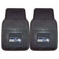 "Seattle Seahawks 2-pc Vinyl Car Mats 17""x27"""