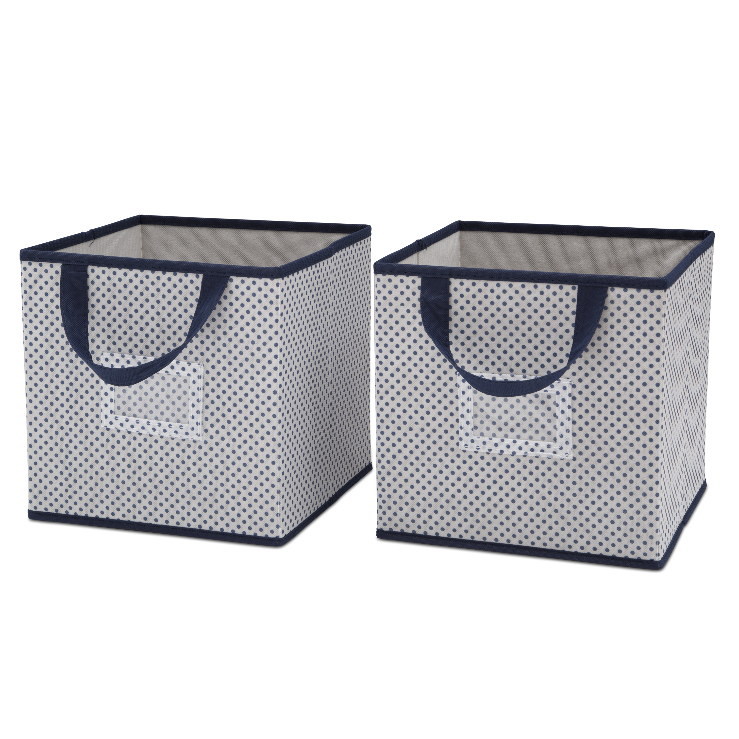 Delta Children 2-Piece Printed Storage Boxes - Infinity Pink