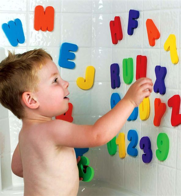 Munchkin Bath Letters and Numbers, 36 Count by Munchkin