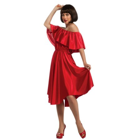Halloween Adult Saturday Night Fever Red Dress (Red Punch Recipe Halloween)
