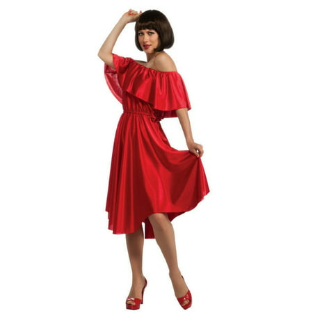 Halloween Adult Saturday Night Fever Red - Red Wedding Dress Halloween Costume
