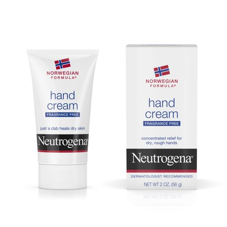 (2 pack) Neutrogena Norwegian Formula Dry Hand Cream, Fragrance-Free, 2 (Best Lotion For Soft Hands)