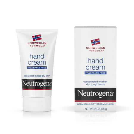 (2 pack) Neutrogena Norwegian Formula Dry Hand Cream, Fragrance-Free, 2 oz