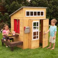 Deals on KidKraft Modern Outdoor Playhouse